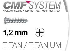 1121 CMF Schrauben 1,2mm